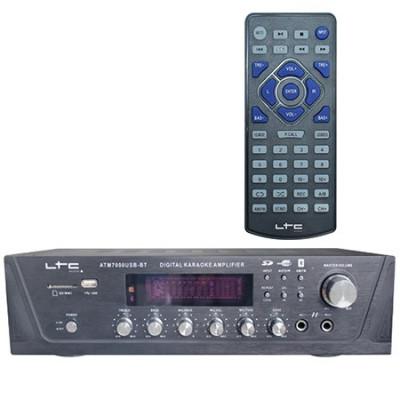 AMPLIFICATOR KARAOKE DIGITAL CU USB/TUNER/BLUETOOTH foto