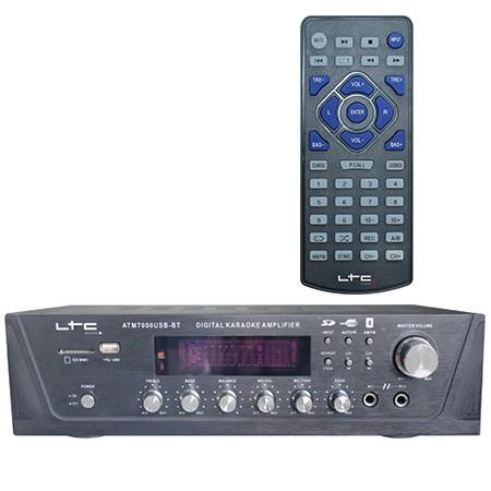 AMPLIFICATOR KARAOKE DIGITAL CU USB/TUNER/BLUETOOTH