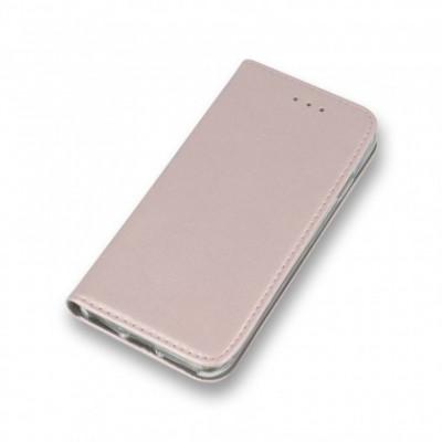 Husa Flip Carte/Stand Samsung J320 Galaxy J3 (2016) inch.magnet Rose Gold foto