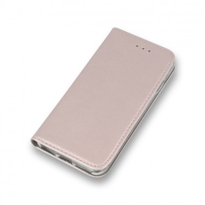 Husa Flip Carte/Stand Samsung J320 Galaxy J3 (2016) inch.magnet Rose Gold