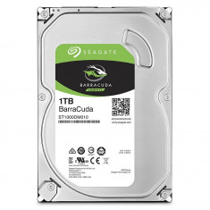 HDD desktop SEAGATE BarraCuda, 1TB, 7200 RPM, SATA3, 64MB, ST1000DM010