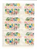 Folie de etichete Botosani vin de regiune, perioada comunista