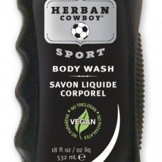 Gel de dus Sport, Herban Cowboy, 532 ml