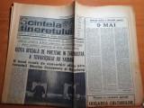 scanteia tineretului 9 mai 1983-interviu mircea luceascu,ceausescu la galati