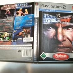 [PS2] Smackdown vs Raw - Platinum - joc original Playstation 2