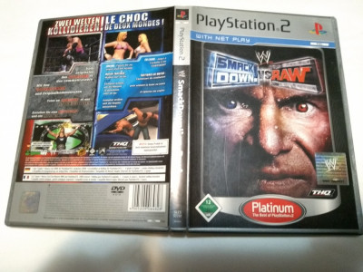 [PS2] Smackdown vs Raw - Platinum - joc original Playstation 2 foto