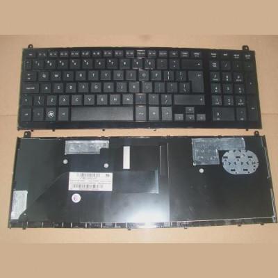 Tastatura laptop noua HP PROBOOK 4520S Black Frame Black( Big Enter REPRINT) US foto