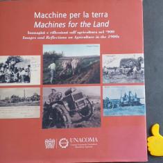 Macchine per la terra Album carti postale masini agricole