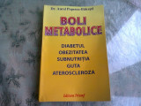 BOLI METABOLICE - AUREL POPESCU BALCESTI