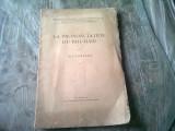 LA PRONONCIATION DU ROUMAIN - ALF LOMBARD (CARTE IN LIMBA FRANCEZA)