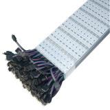 5050 Hard Strip RBG - Banda aluminiu cu LED 5050 RGB, 60 LED m, 12 V