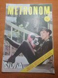 Revista metromom nr.3/1990-george michael,antract,silvia dumitrescu,phoenix