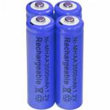 Cumpara ieftin Baterii reincarcabile AA, 3000mAh, 1,2V, acumulatori AA