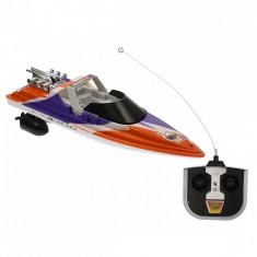 Barca sport de jucarie cu doua motoare si telecomanda - 2611