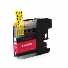 Cartus compatibil LC 223M Magenta pentru imprimante Brother, 10 ml