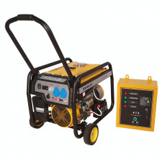 Stager FD 3600E+ATS generator open-frame 2.8kW, monofazat, benzina, automatizare