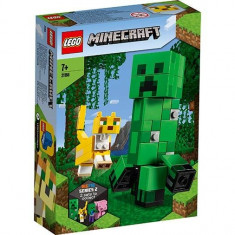 LEGO Minecraft - Creeper si Ocelot 21156