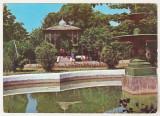 Bnk cp Ramnicu Sarat - Vedere din parc - circulata - marca fixa, Printata