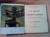 LA MAGIE dans L`EGYPTE ANTIQUE - Tome II -  Francois Lexa -  1925, 235 p.