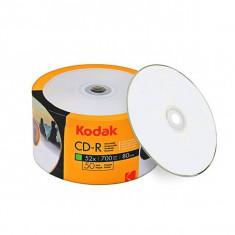 CD-R Kodak printabile, 700 MB, 52X, set 50