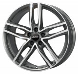 Jante VOLVO V40 Cross Country 8J x 19 Inch 5X108 et45 - Alutec Ikenu Graphit Frontpoliert - pret / buc