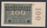 A1006 Germany Germania 100000000 mark 1923
