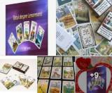 Carti tarot lenormand+cartea totul despre lenormand+cadou un set de rune