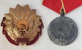 LOT Ordinul & Medalia MUNCII distinctie comunista - Ceausescu ''epoca de aur''