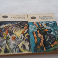 Hristos rastignit a doua oara - Nikos Kazantzakis (2 vol.)  RF18/0