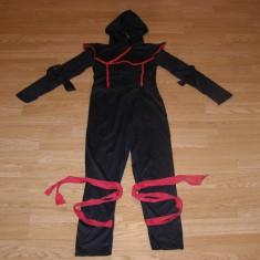 Costum carnaval serbare ninja pentru copii de 8-9 ani, Din imagine
