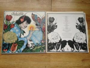 CHICK COREA - THE LEPRECHAUN (1976,POLYDOR,UK) vinil vinyl jazz LP