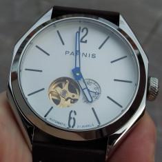 Ceas Parnis Bulgarini automatic japonez Citizen Miyota 43mm geam Safir