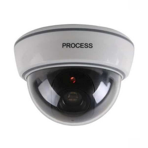 Camera de supraveghere falsa Dome DS-1500A, senzor miscare, led