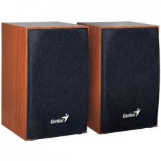 Boxe Genius 2.0 SP-HF160, 4W RMS, USB, Cherry Wood