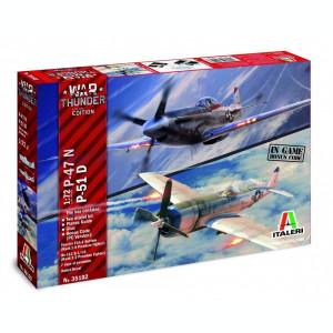 1:72 War Thunder: P-47N / P-51D 1:72
