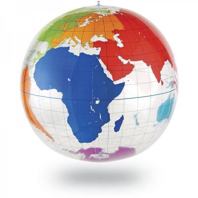 Glob pamantesc gonflabil foto