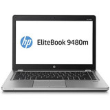 Laptop second hand HP EliteBook Folio 9480m, Core i7-4600u, Intel Core i7