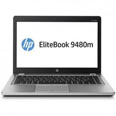 Laptop second hand HP EliteBook Folio 9480m, Core i5 4310u, 180GB SSD, Intel Core i5, 4 GB