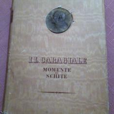 Momente Si Schite. Editie Festiva, 1952. Ilustratii de E. Taru - I. L. Caragiale, Alta editura, I.L. Caragiale