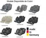 Set Huse Scaune Dedicate Vw Transporter T5 2004-2010 Kombi 5 locuri Premium