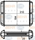 Radiator incalzire interior OPEL ASTRA G Cupe (F07) (2000 - 2005) HELLA 8FH 351 024-271
