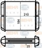 Radiator incalzire interior OPEL ASTRA H (L48) (2004 - 2016) HELLA 8FH 351 024-271