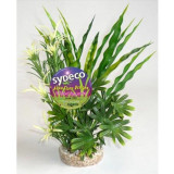 Plante artificiale acvariu, SYDECO FIESTA AQUA BUSH, 24 cm, 1 buc, 380203