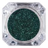 Cumpara ieftin Sclipici Glitter Unghii Pulbere LUXORISE, Deep Green #07