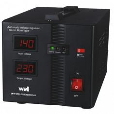 Stabilizator automat de tensiune cu servo motor Secure 2000VA Well