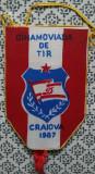 Fanion Dinamo viada de tir Daciada Craiova 1987