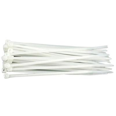 Colier Plastic Alb 370 Mm X 4,8 Mm foto