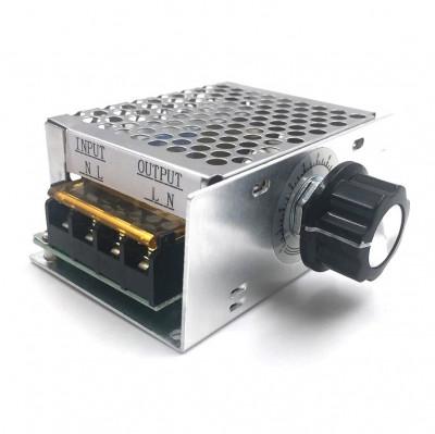 VARIATOR DE TENSIUNE regulator turatie pentru motor electric 220V AC 4000W pret foto
