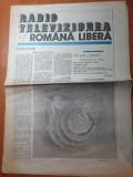 Revista radio televiziunea romana libera 12-18 februarie 1990