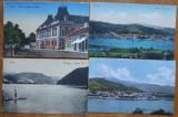 8 CP interbelice cu Orsova ,  2 cu stampila Biblioteca Tinerii Turci Ada Kaleh, Printata, Romania 1900 - 1950